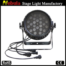 Bright dj outdoor 24*18w rgbawv 6-in-1 led par wall washer zoom stage lighting