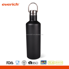Everich 450ml customized stainless steel wine vacuum bottle with ss handle lid