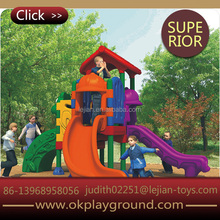 Kindergarten backyard wholesale sturdy big size outdoor playground slide
