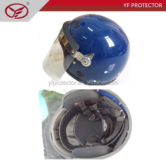 riot control helmet, safety police&military helmet with visor, military tactical helmet