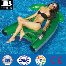 manta ray dual squirter inflatable pool float lounge chairs pool swimming water chaise lounge chair