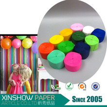 Crepe paper hand throw streamer party supplies kids