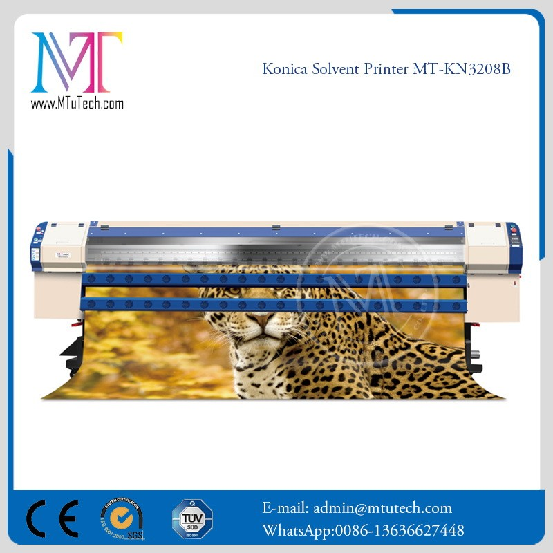 Cost price first Choice konica flex banner printing machine