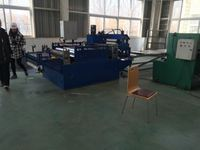 High Speed Roofing Double Layer angle horizontal wood cutting saw machine