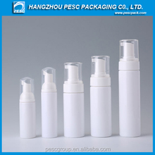 Facial cream bottle with pump
