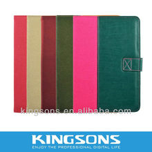 2012 China Kingsons newest leather cover for ipad mini case-K8450U