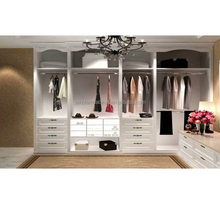 China Customized Modern Wooden Living Room Wardrobe Design