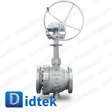 Didtek Two Pieces Body WCB Sofe Seal Cryogenic Trunnion Ball Valve With Extension Stem