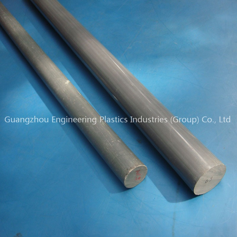 100% virgin custom made PVC plastic bar round rod