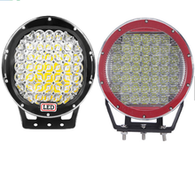 New waterproof IP68 offroad led driving light red 12v 9 inch commercial electric work light