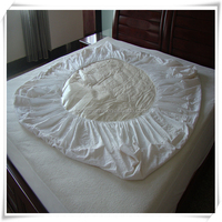 Queen, Twin Size,King, Double,customized baby size Size and bamboo fiber terry cloth Material Crib Mattress Protector