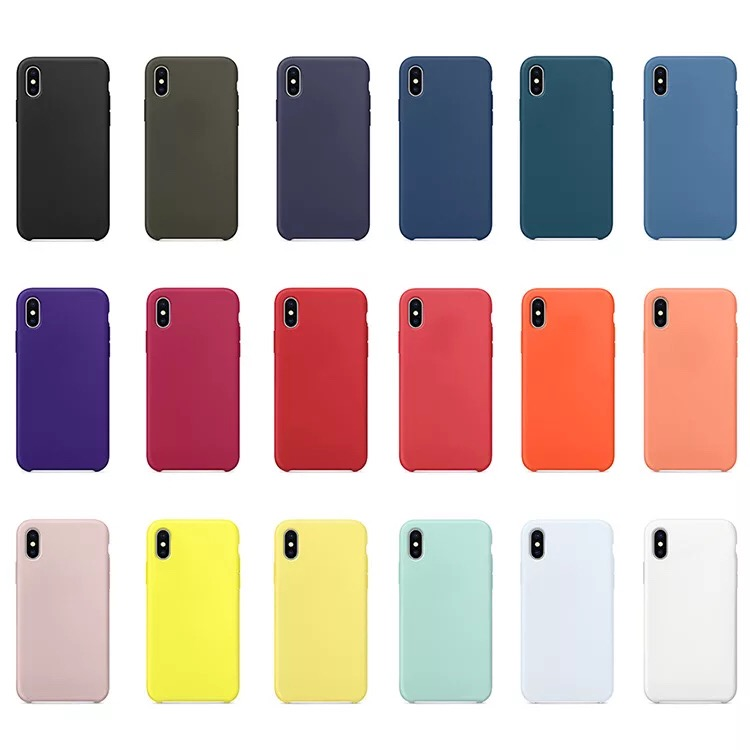 Premium Shockproof Liquid Silicone Rubber Phone Case For iPhone 11 Pro Max