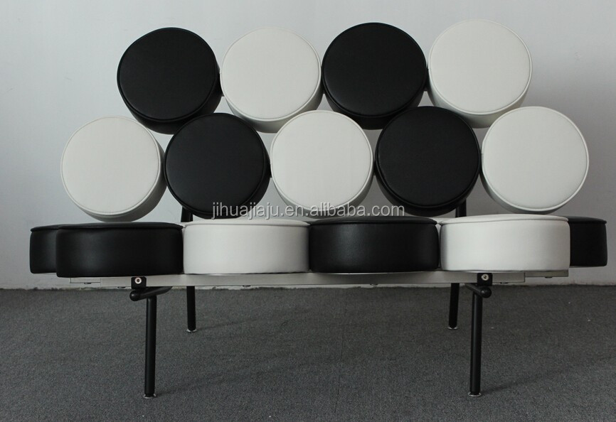 modern leather marshmallow chair/antique chesterfield leather chair/leather chesterfield sofa white