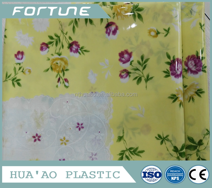 pvc block print tablecloth plastic coated tablecloths printed plastic tablecloth