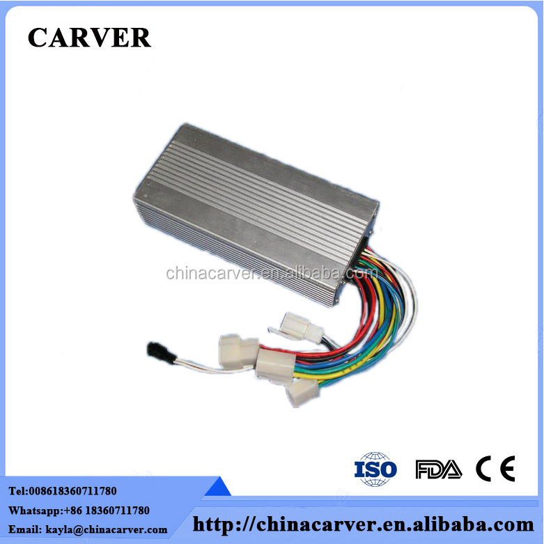 60v 72v 1500w Brushless electric vehicle dc motor controller from China