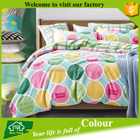 65gsm--145gsm disperse printing polyester microfiber fabric bed sheet sets