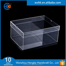 hot sale sneaker clear acrylic reptile displayshoes box