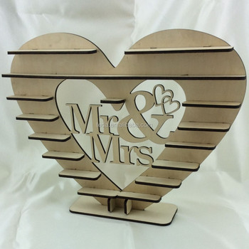 Mr Mrs Ferrero Rocher Heart Tree Wedding Display Stand