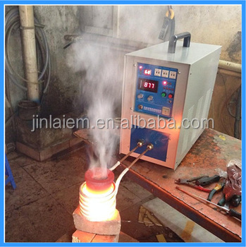 3-6KG ISO 9001:2008 HF High Quality Power Small Crucible Copper Scrap Indution Melting Furnace Smelter (JL-25)
