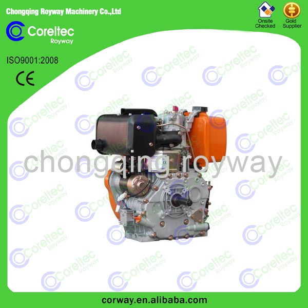 For Working Tractor Air-cooled Single Cylinder Electric Start 10hp Gasoline Engine