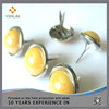 Yellow Pearl Brads For Scrapbooking Decorative