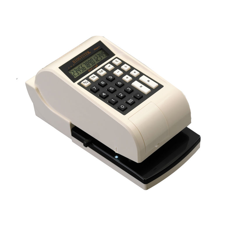 Biosystem 3 Currencies Cheque Writer - iCheque 5