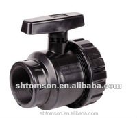 pvc socket thread single double true union ball valve