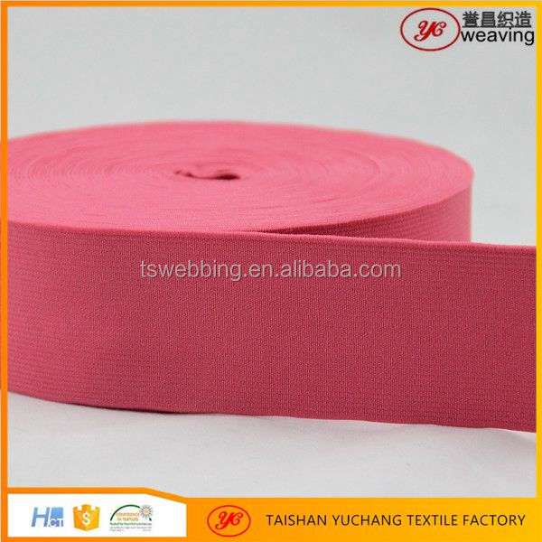 china supplier Custom Printing transparent elastic band