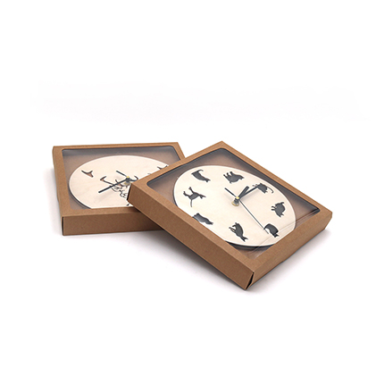 China Manufacturer Wholesale Craft art wooden wall clock