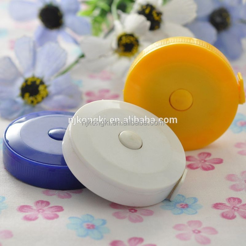 Wholesale small merchandise measuring tape with keychain bulk measure tapes for gift tape