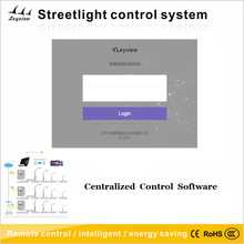 Own designing and easy use intelligent street light system software