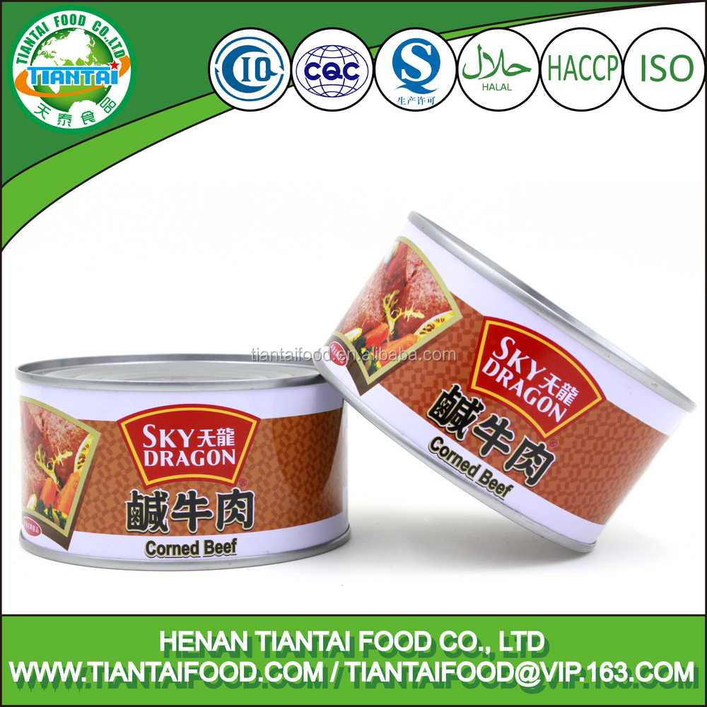 canned meat supplier halal roast beef