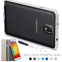 Ultra thin aluminum metal bumper case cover for samsung galaxy note 3 n9000