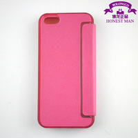 Leather TPU flip cover case for iphone 5 whole window protector case for iphone 4 5 wholesale