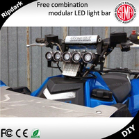 Popular 9 - 32v led motorcycle driving lights 100w led driving light bar