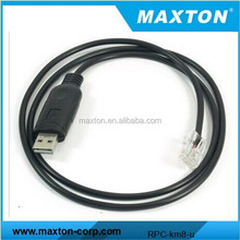 Maxton Usb programming cable with FT2303TA chip for Kenwood TK-7150 TK-768 TK8180 two way radios