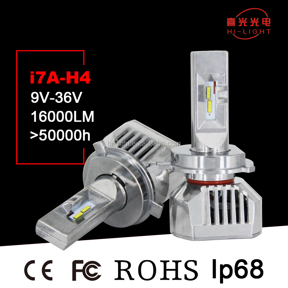 High Intensity Long Life CE Rohs Certified Electric Car Vehicle Bus led headlight Conversion Kit High Power