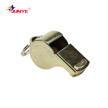 High quality durable using various sports metal emergency survival whistle