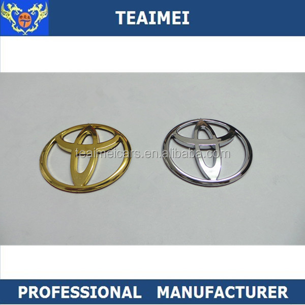 Best Price Toyota ABS 3D Chrome Car Emblem For Cars