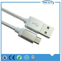 Lianfali high-speed Phone Accessory White 1M For iPhone 6 USB Cable