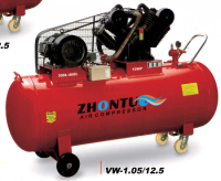 10hp 400L 2cylinder belt driven 12BAR air compressor