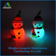 indoor Christmas and party decoration led light with snowman shape
