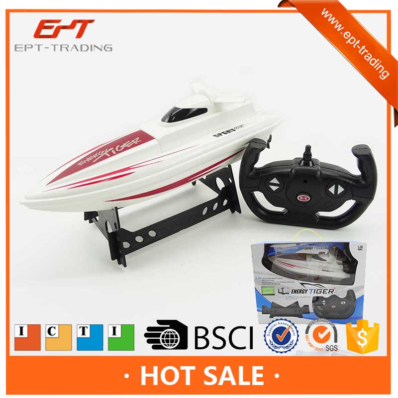 2.4g remote control toy ship rc boat for kids