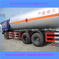 Lpg Trucks 6x4 Dongfeng Heavy Duty Lpg 25cbm Tanker Trucks 10Wheels Used Lpg Road Tanker