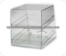 Acrylic Food Rack / Food Tray / Bread Tray -2 layers
