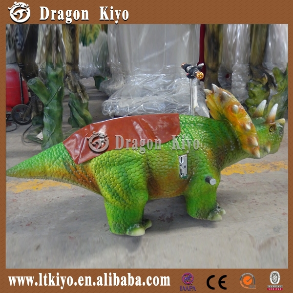 dinosaur king toys plush baby rocker ride on toy for sale 2015 made in China