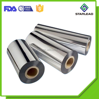 Matt Finish Metallized Polyester Films With Mirror Surface Look