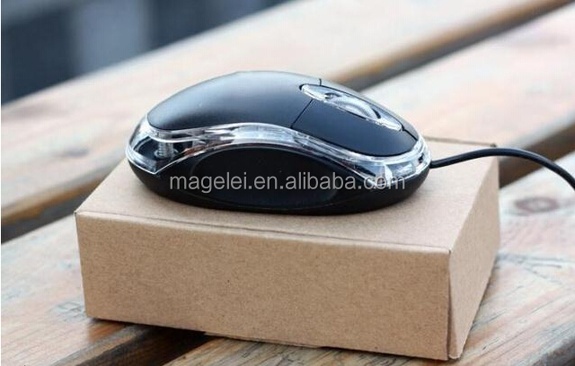 Good quality computer accessory low cheap price mini small optical wired mouse