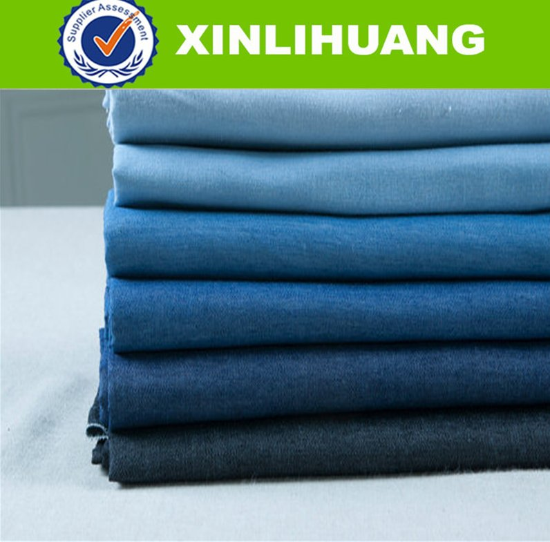 100 cotton denim fabric for jacket or jean