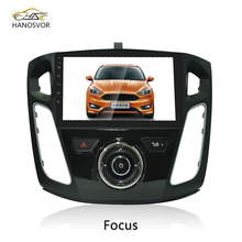 Wholesaler price Android 7.1 touch screen car dvd player Car GPS navigation audio video system for Ford Focus 2004 -2015 WiFi